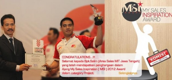My Sales Inspiration Awards 2012